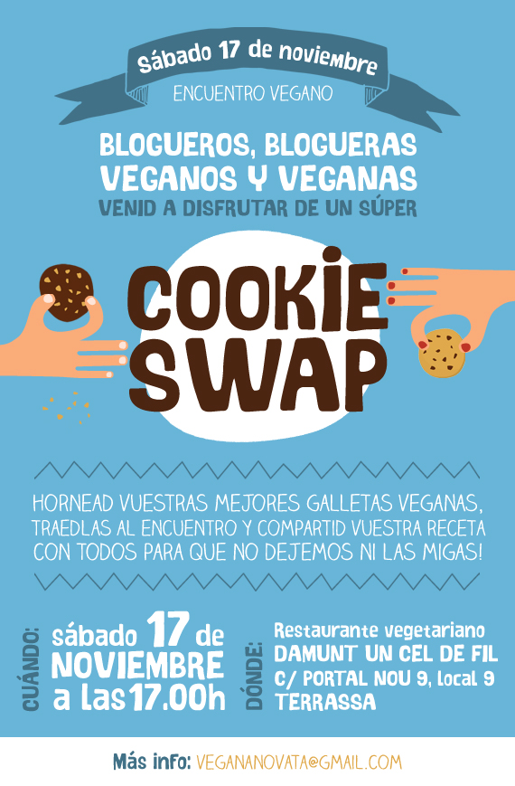 Cookie Swap Vegano
