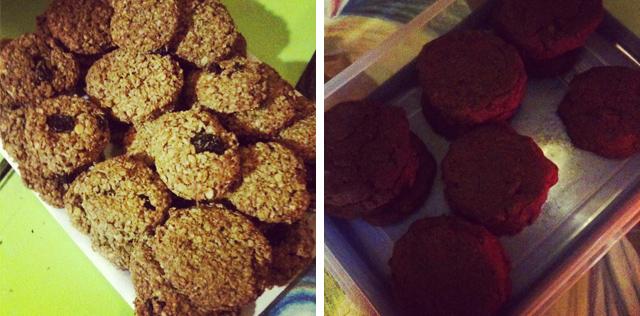 Panela y avena + Choco cookies